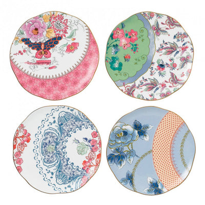 Butterfly Bloom Plate 20cm (Set of 4)