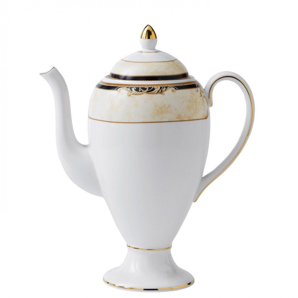Cornucopia Coffee Pot