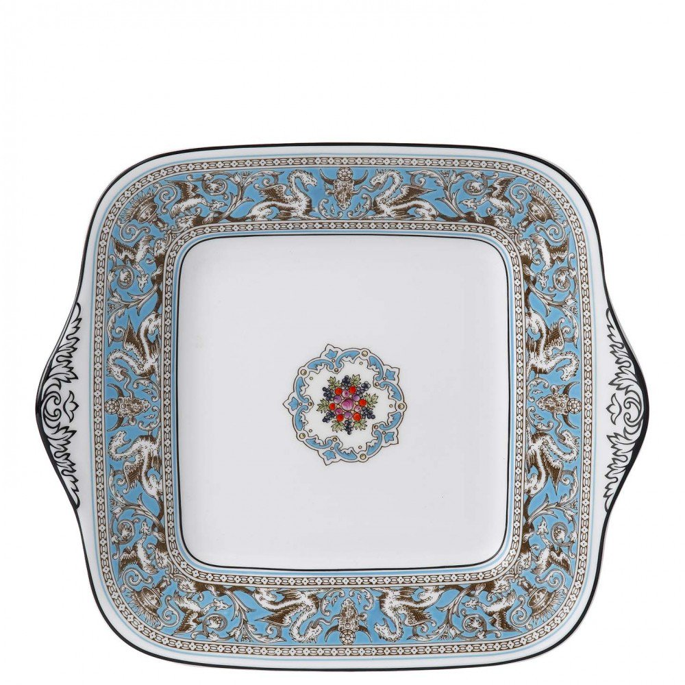 Florentine Turquoise Bread and Butter Plate