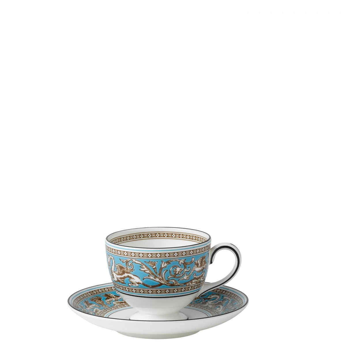Florentine Turquoise Teacup Leigh