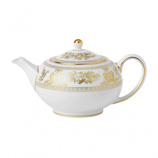 Gold Columbia Teapot