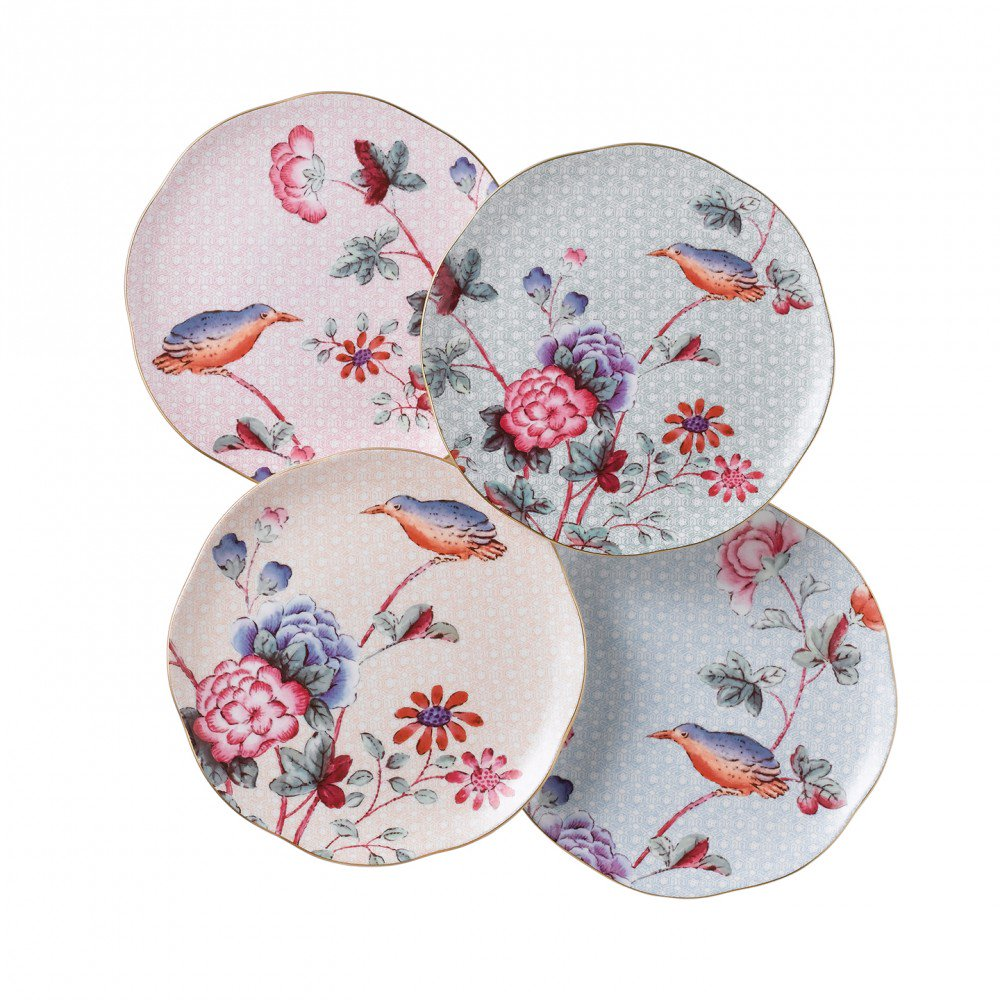 Cuckoo Tea Plate (Set of 4)