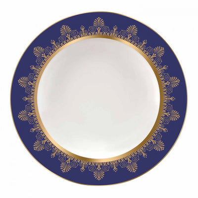 Anthemion Blue Soup Plate 23cm