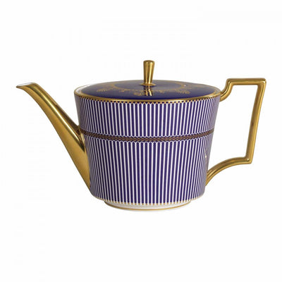 Anthemion Blue Teapot