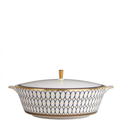 Renaissance Gold Covered Vegetable Dish