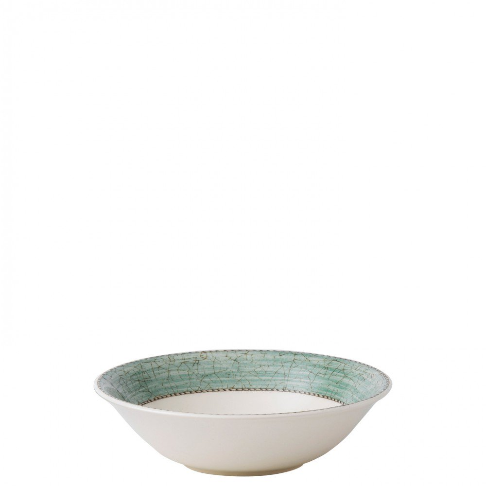 Sarah's Garden Cereal Bowl 18cm Green