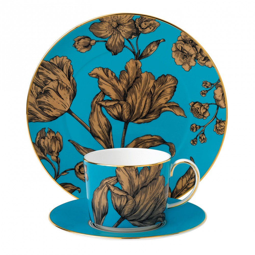 Vibrance 3-Piece Set Turquoise, Gift Boxed