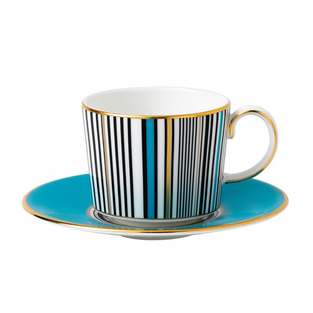 Vibrance Espresso Cup & Saucer, Gift Boxed