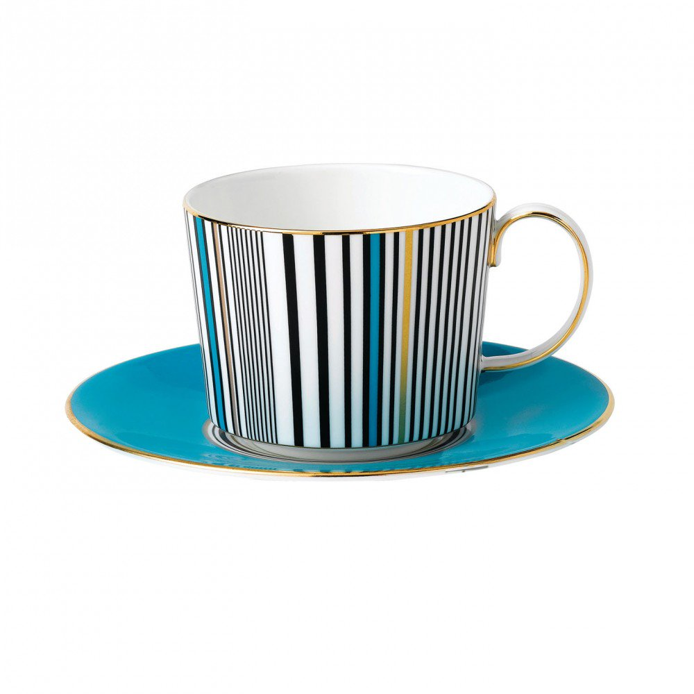 Vibrance Teacup & Saucer, Gift Boxed