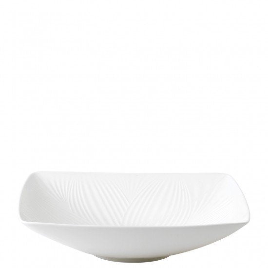 White Folia Statement Bowl 26cm