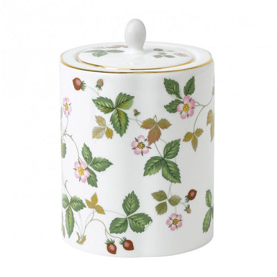 Wild Strawberry Tea Caddy, Gift Boxed