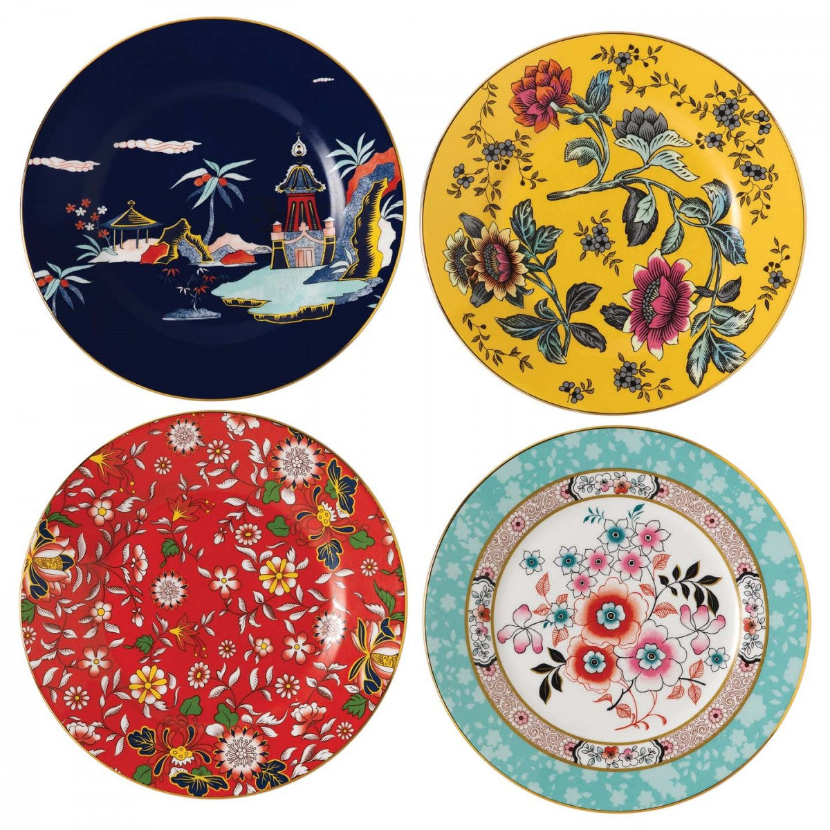 Wonderlust Plates 20cm (Set Of 4)