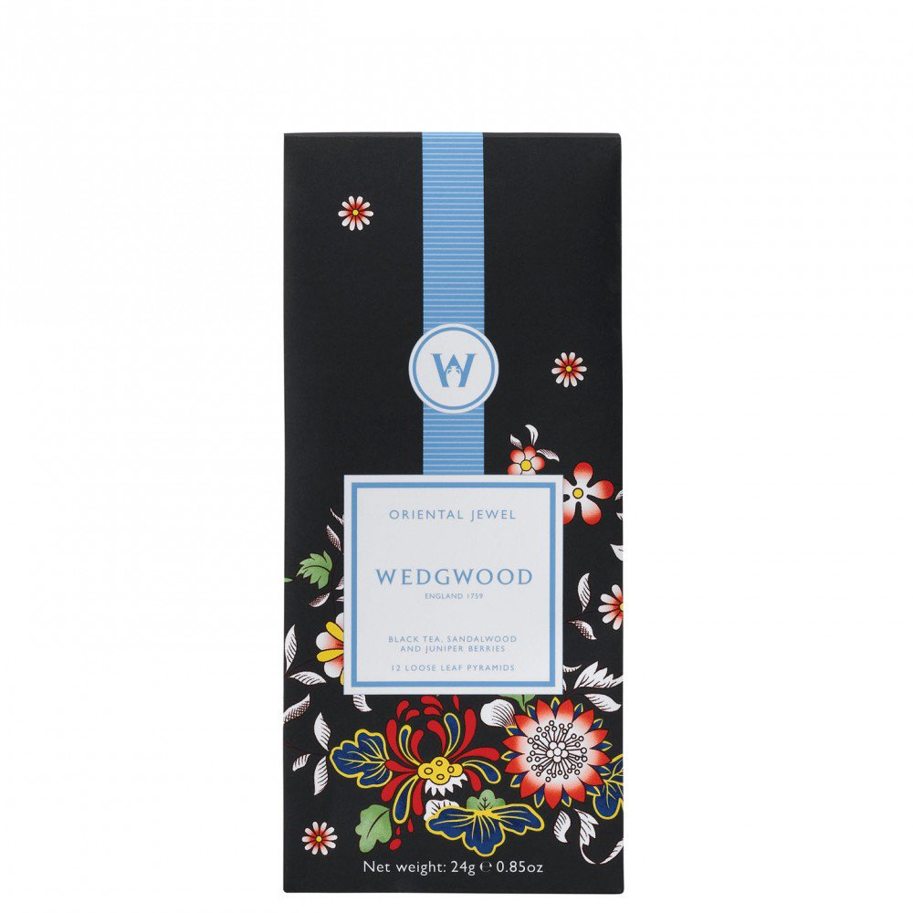 Wonderlust Oriental Jewel - Black Sencha Tea