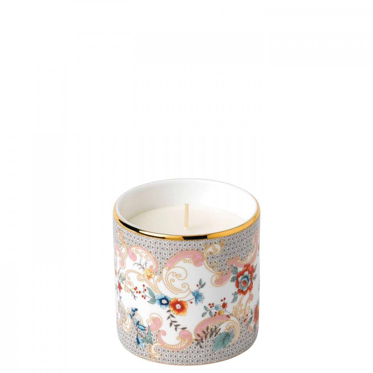 Wonderlust Rococo Flowers Candle