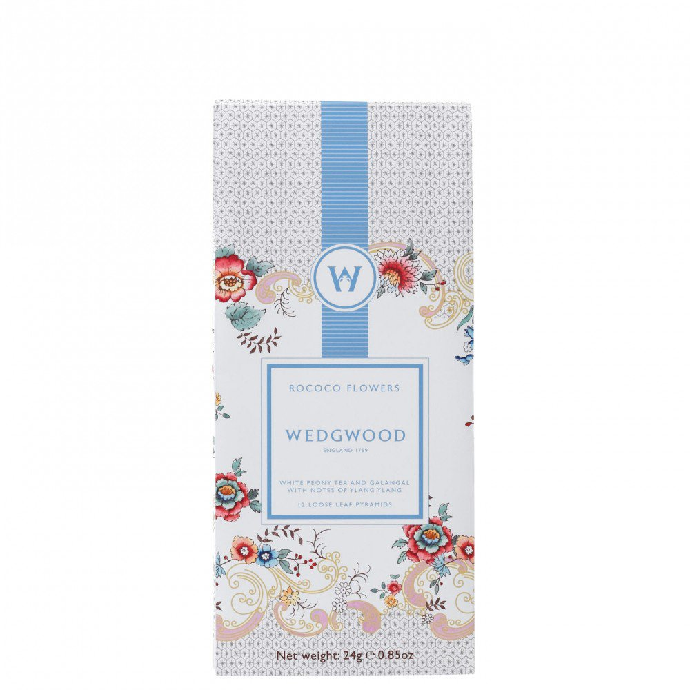 Wonderlust Rococo Flowers - White Blend Tea