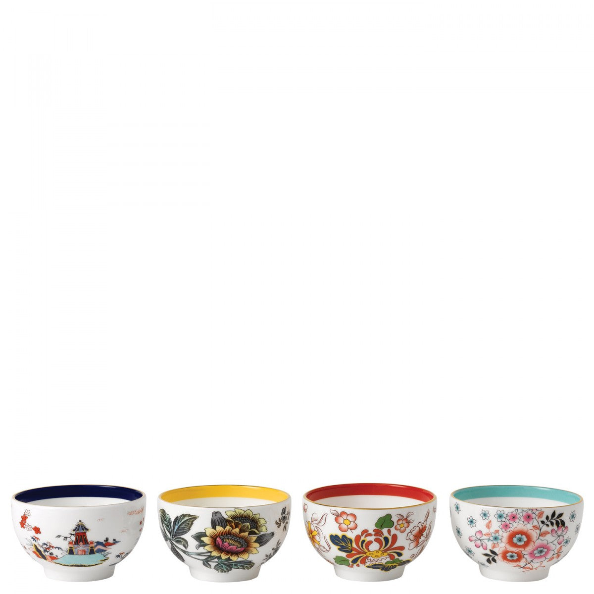 Wonderlust Tea Bowls (Set Of 4)