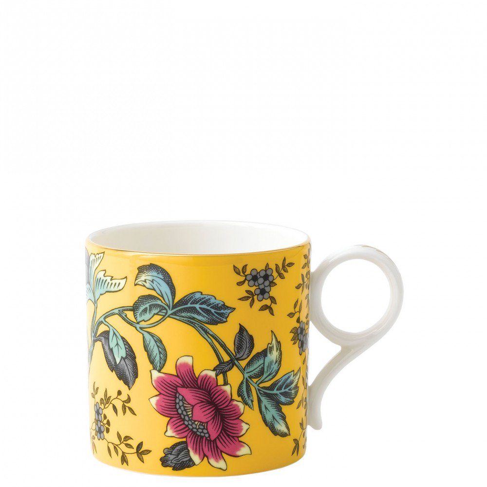 Wonderlust Yellow Tonquin Mug Large