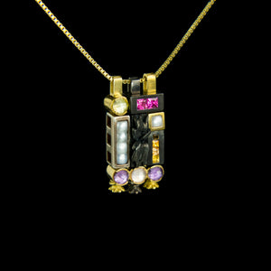 Autumn II Morphic Blocks Pendant