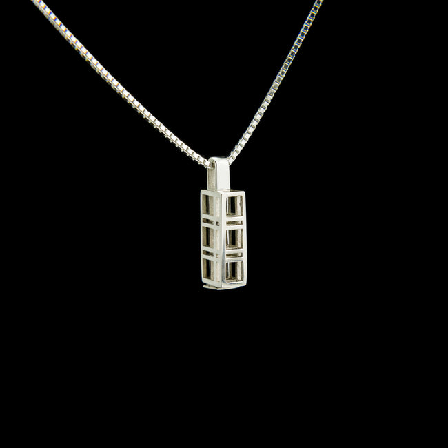 Triple Morphic Frame Block Pendant with square base column