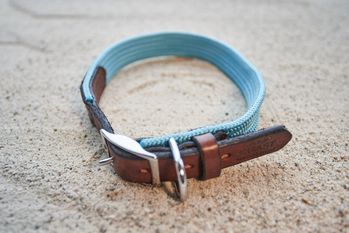 coast-line-2 - Rope & Leather Collar - Collar