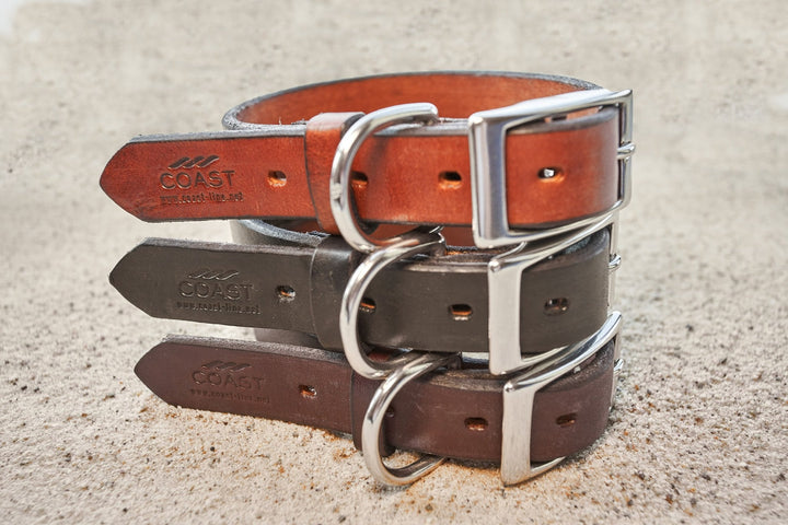 coast-line-2 - Leather Collar - Collar