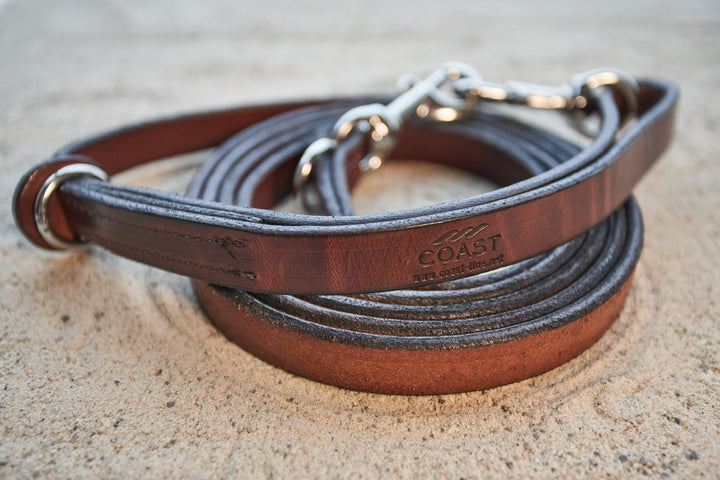 coast-line-2 - Leather Leash - Leash