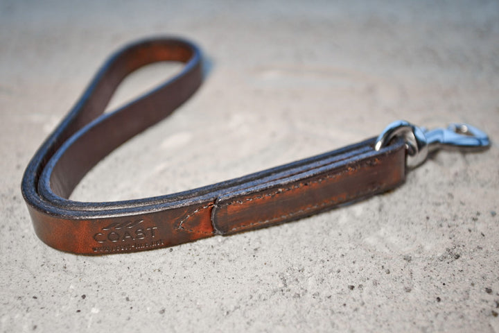 coast-line-2 - Leather Shorti - Leash