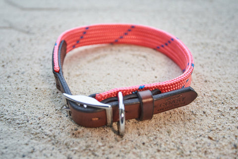 Rope & Leather Collar