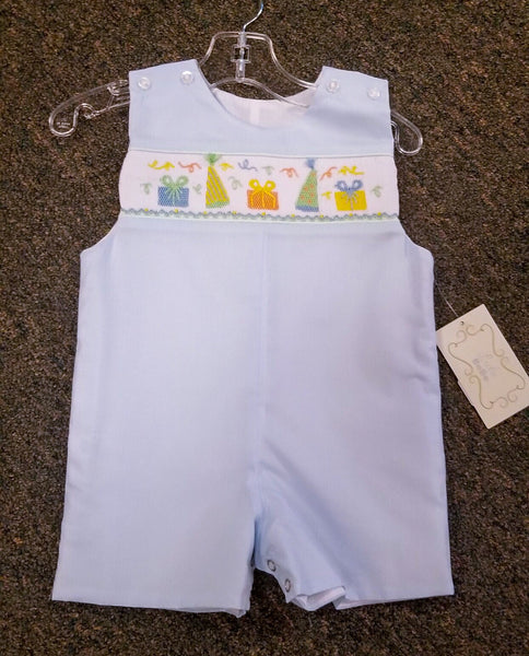 Lulu BeBe Blue Party outfit