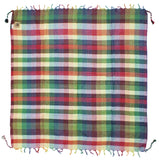 Tahrir rainbow queer keffiyeh by Tahrir Scarf (full spread)