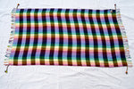 Isis striped rainbow sarong by Tahrir Scarf