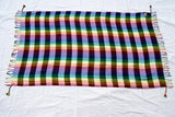 Isis striped rainbow cotton Sarong by Tahrir Scarf
