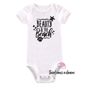 Beauty & The Beach Onesie