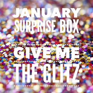 January Surprise Bow box