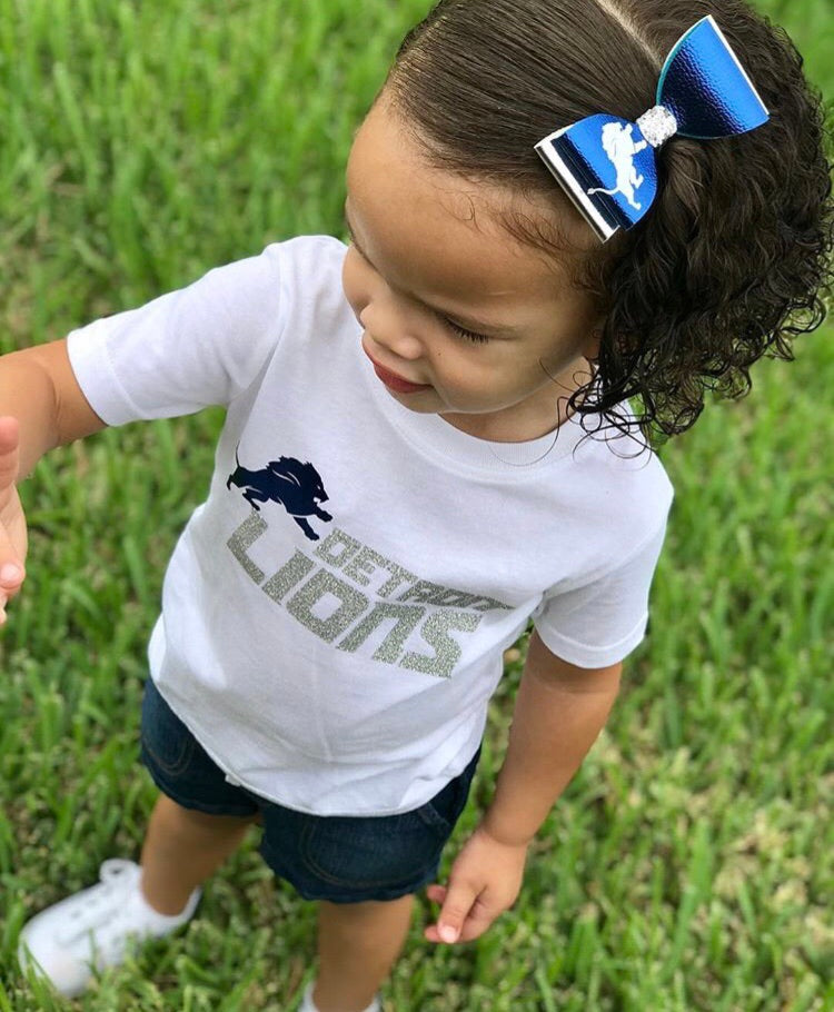 Custom Sports Inspired Onesie & Bow Sets