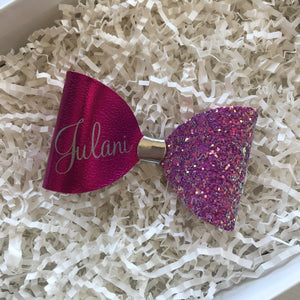 Personalized Name Bow