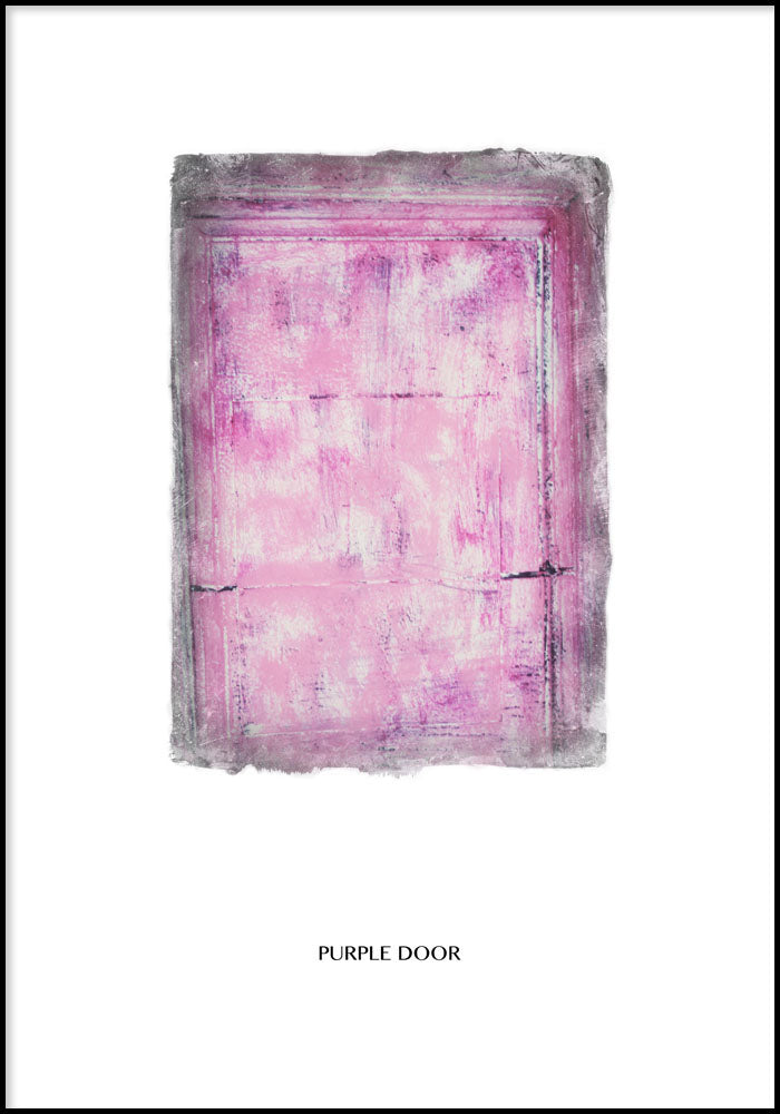 Juliste Purple Door