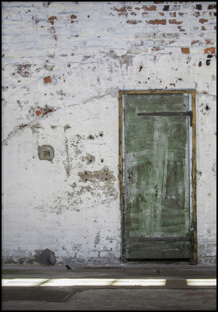 Juliste Green Door