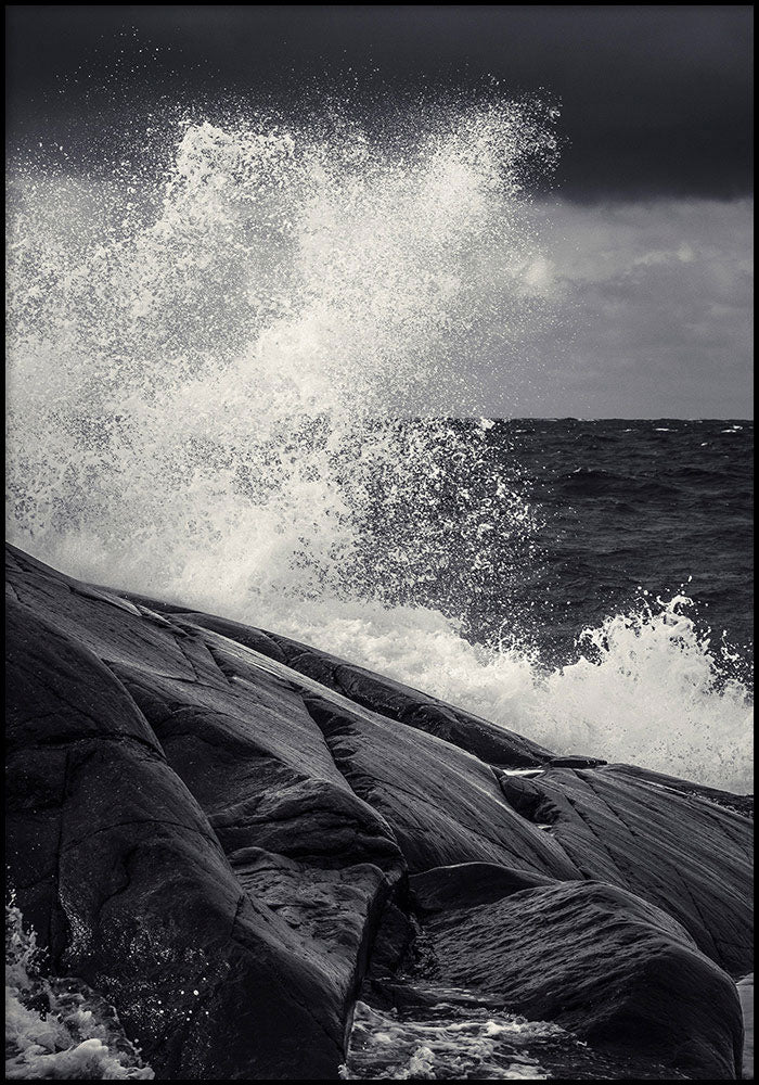 Juliste Sea on the Rocks