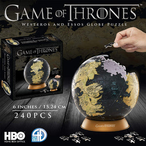 9 inch 3D Globe Puzzle from Game of Thrones