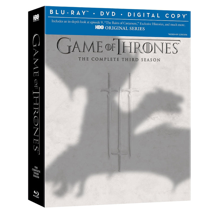 Game of Thrones: The Complete Third Season Blu-ray