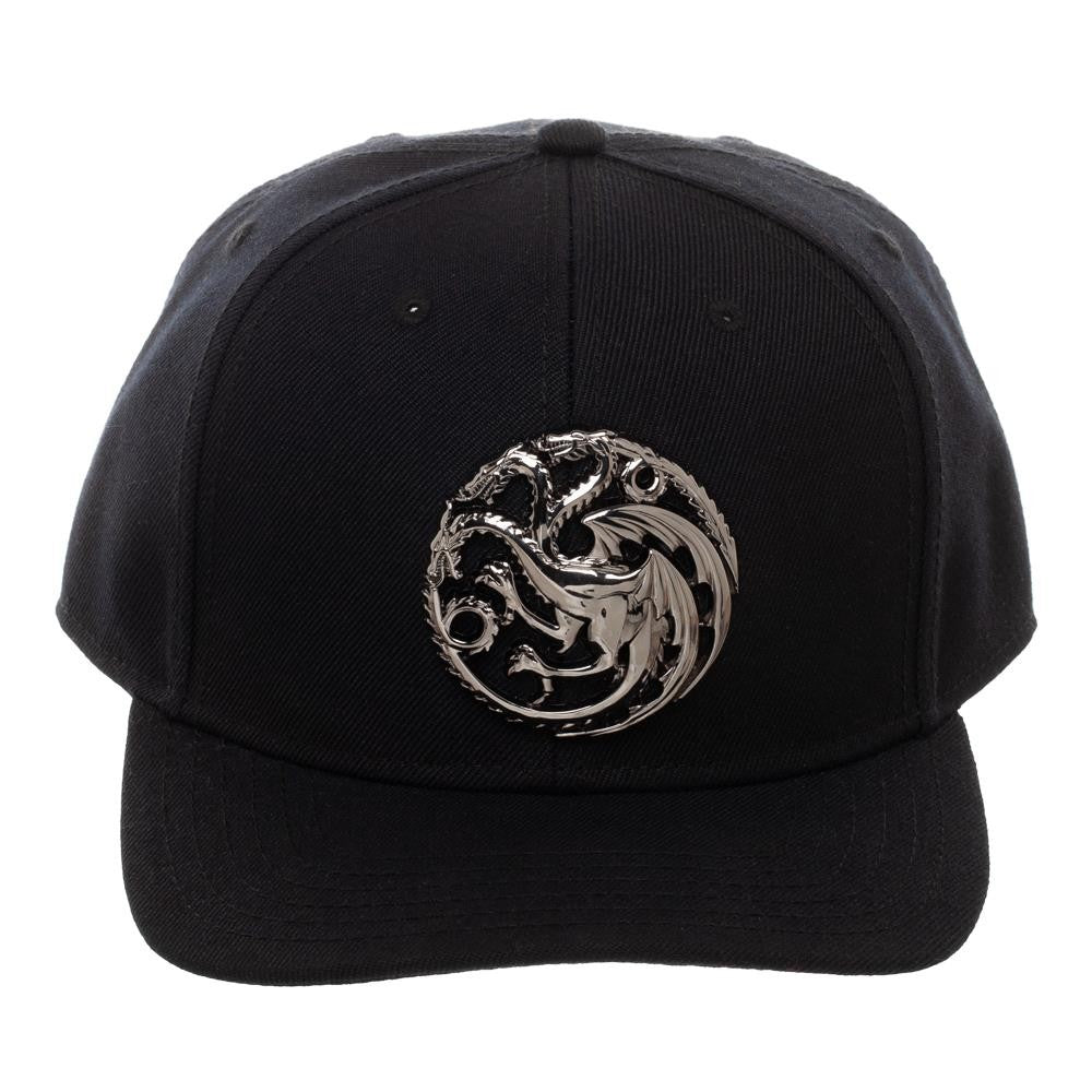 House Targaryen Metal Detail Snapback from Game of Thrones