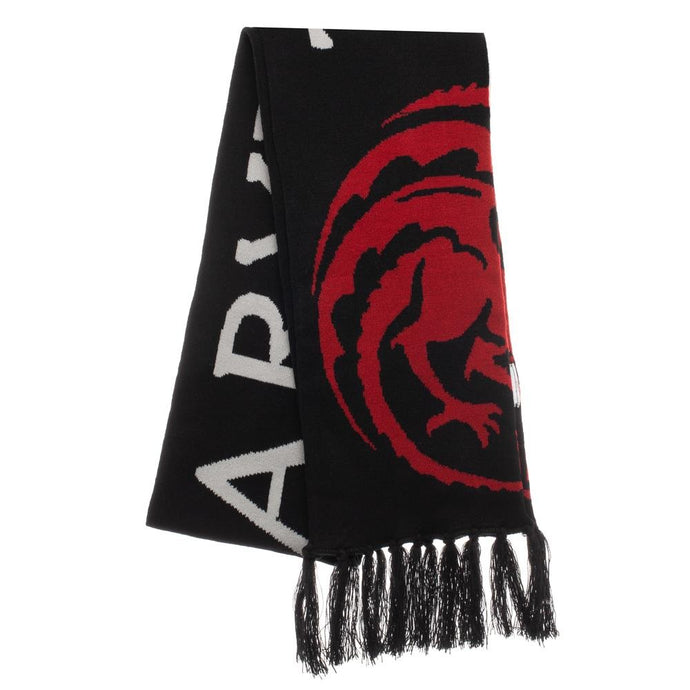 Targaryen Knit Scarf from Game of Throneses