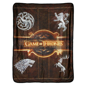 Product image of House Fleece Throw from Game of Thrones