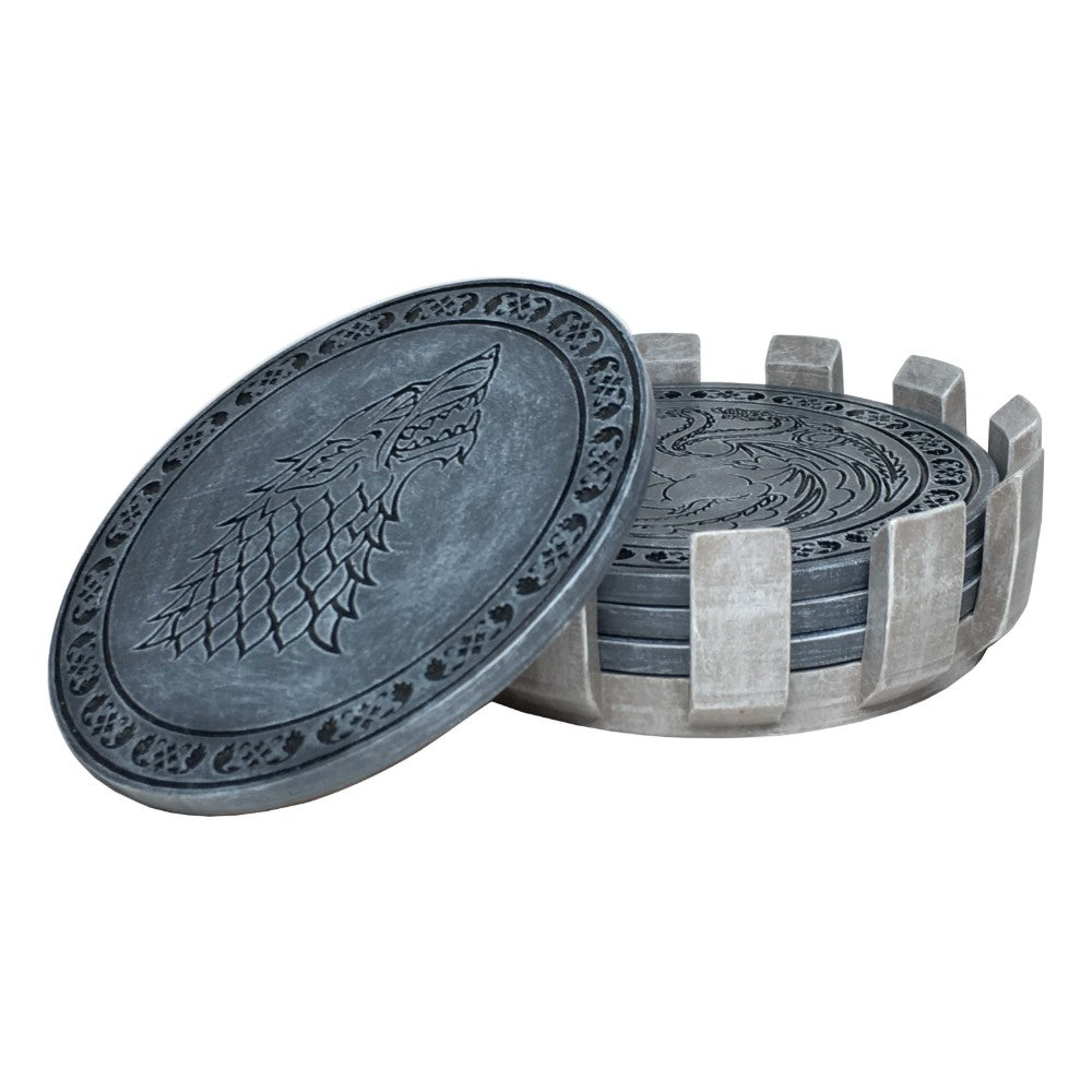 Faux Stone Coaster Set from Game of Thrones