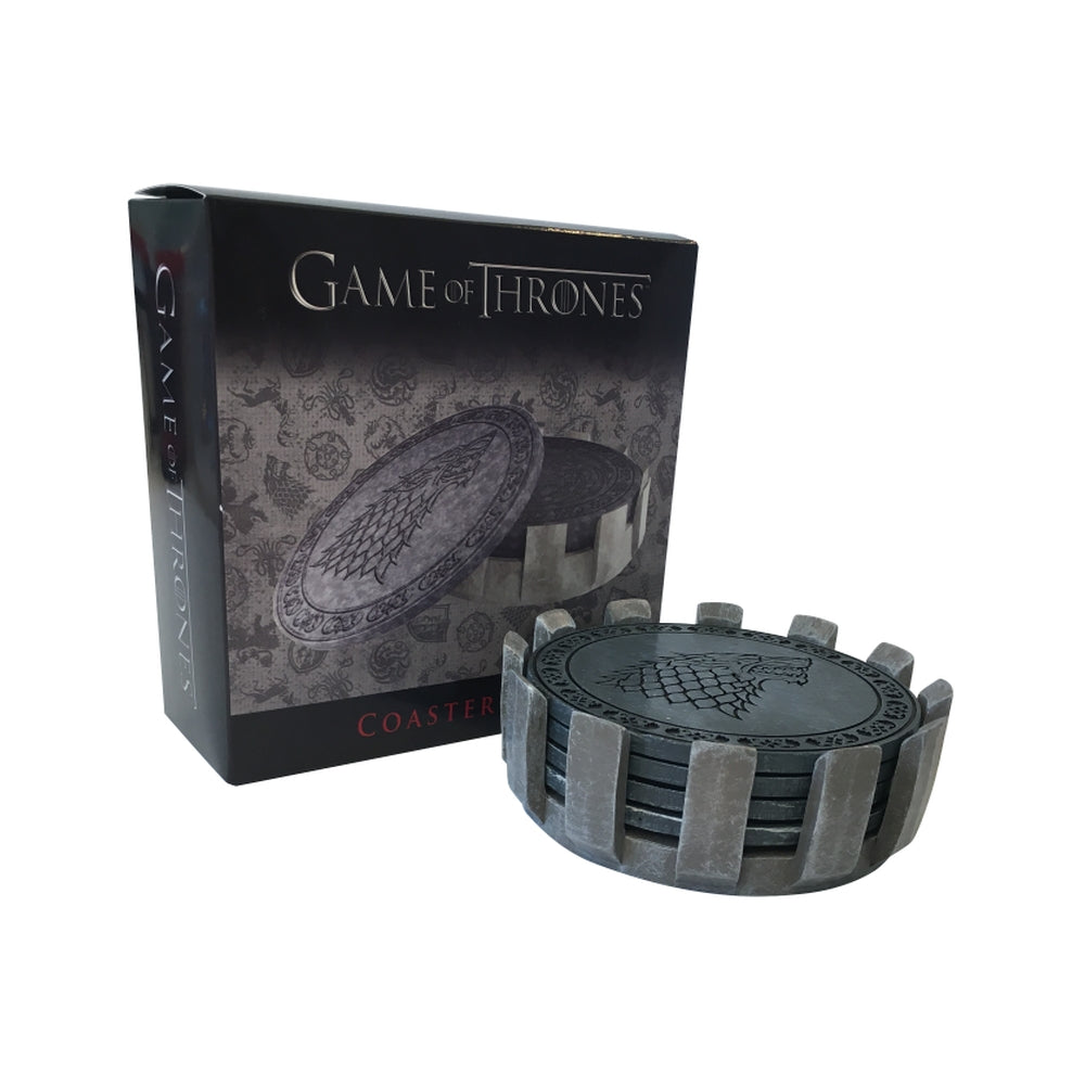 Additional image of Faux Stone Coaster Set from Game of Thrones