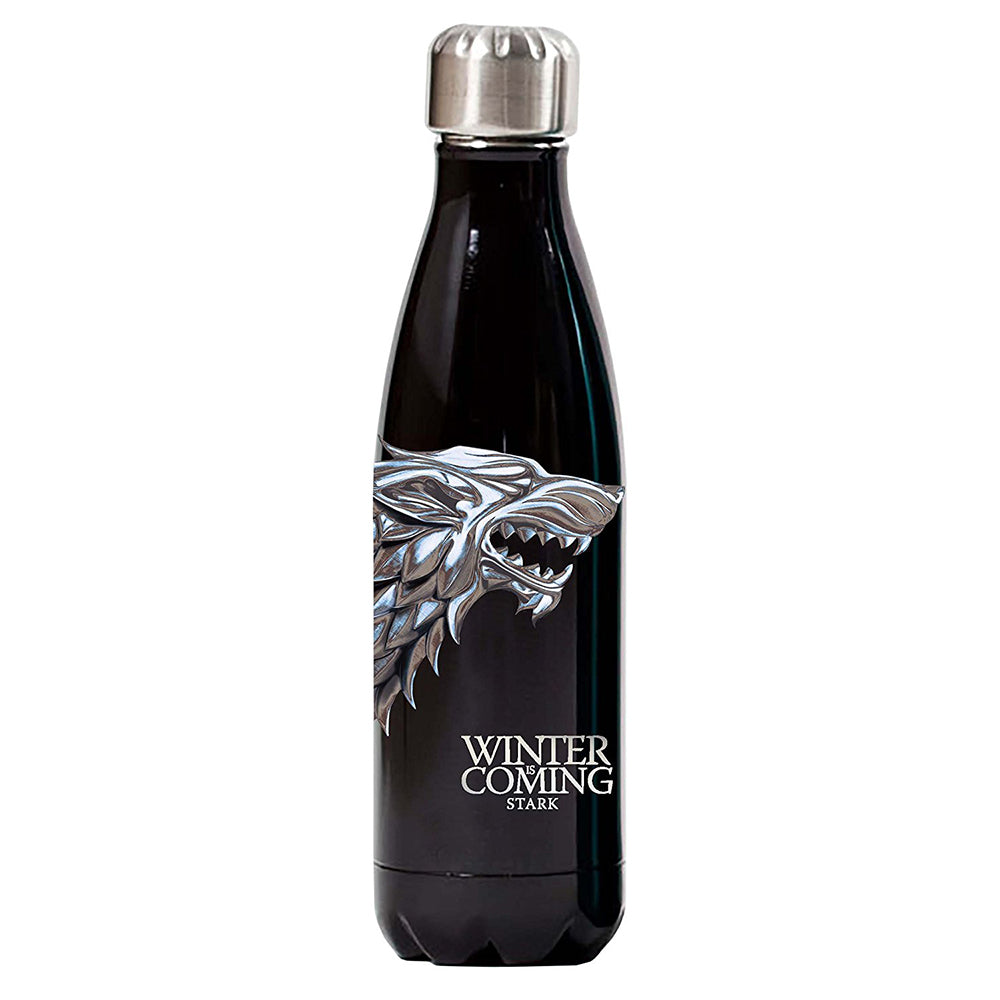 Winter is Coming Stark Sigil Vacuum Bottle from Game of Thrones