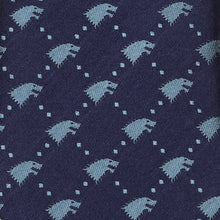 Additional image of Stark Jacquard Dot Men's Tie from Game of Thrones