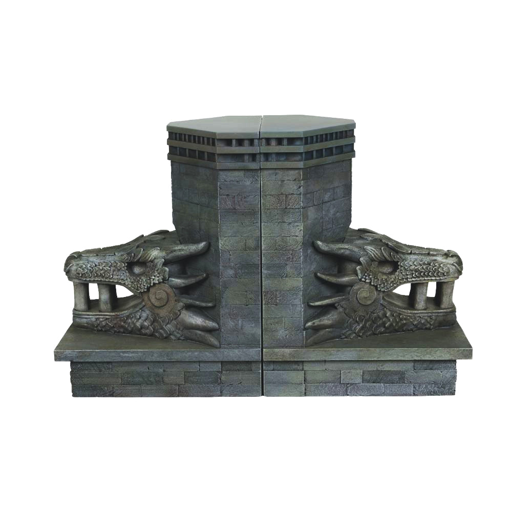 Dragonstone Gate Bookends from Game of Thrones