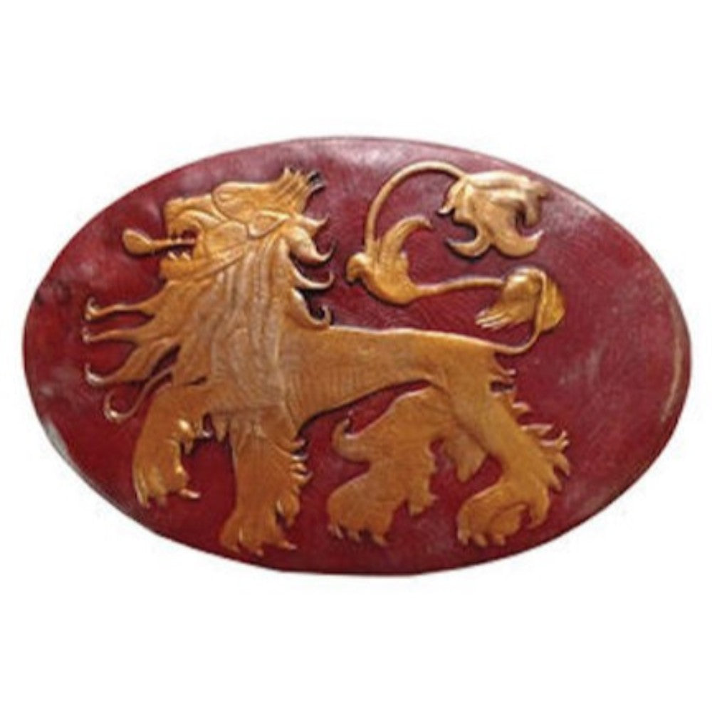 House Lannister Shield Pin from Game of Thrones